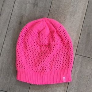 The north face girls reversible winter hat
